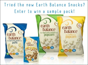 earth balance snacks