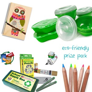 eco-friendly prize pack